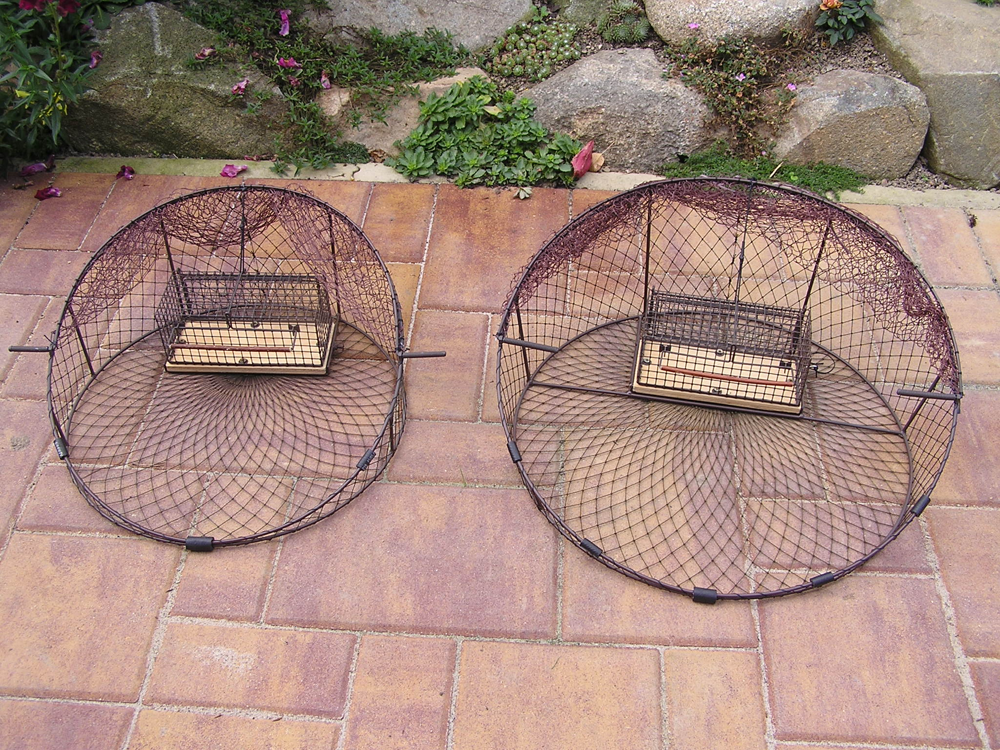 RST50 -  Round shaped trap for trapping raptors. Diameter 50 cm.