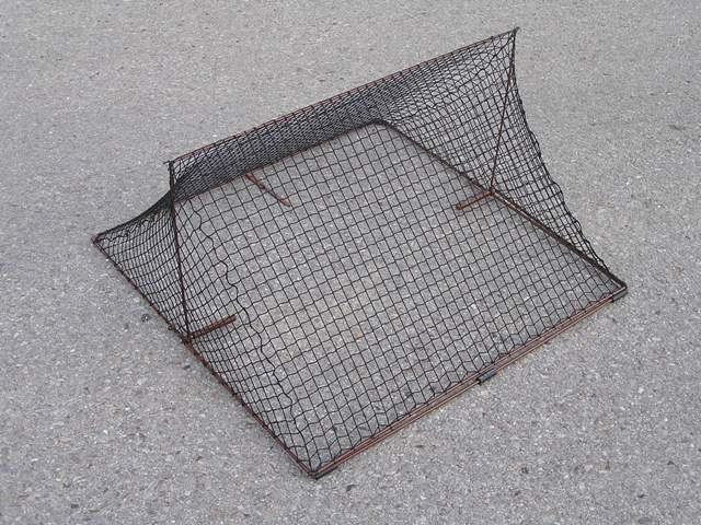 TG85 - Tent spring trap for trapping gulls. Base dimensions 85x85 cm